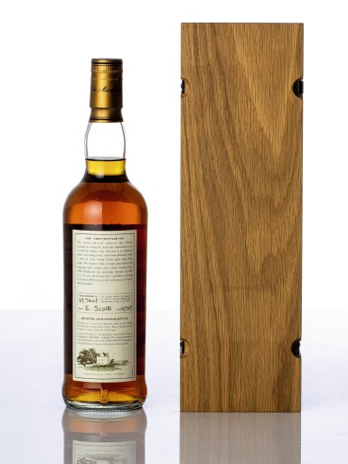 View 2. Thumbnail of Lot 5524. The Macallan Fine & Rare 31 Year Old 43.0 abv 1938 (1 BT70).