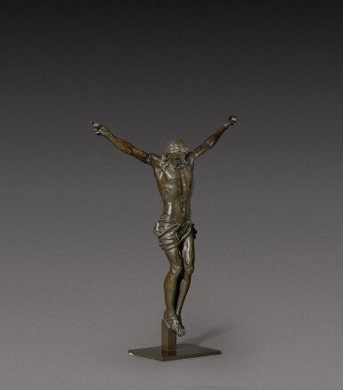 View 4. Thumbnail of Lot 160. French, 17th century   Crucifix.