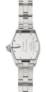 CARTIER | ROADSTER REF 2510, A STAINLESS STEEL AUTOMATIC WRISTWATCH WITH DATE AND BRACELET CIRCA 2000