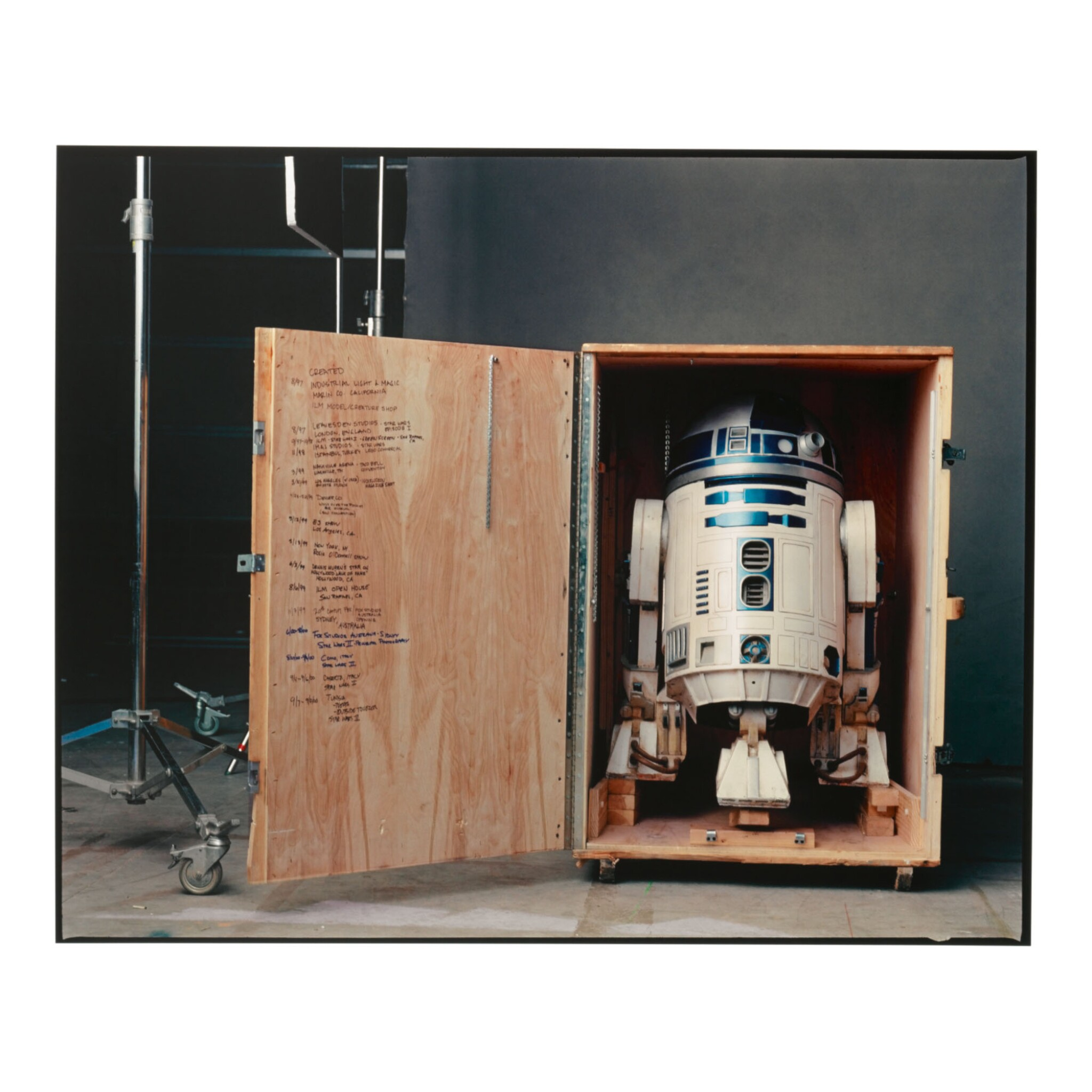 View full screen - View 1 of Lot 78. ANNIE LEIBOVITZ | R2-D2, PINEWOOD STUDIOS, LONDON.