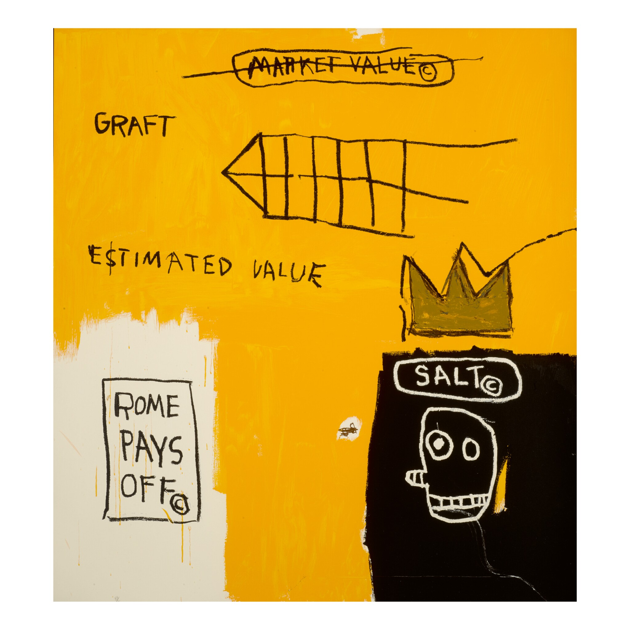 AFTER JEAN-MICHEL BASQUIAT | ROME PAYS OFF
