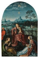 The Holy Family with Saints Catherine and Ursula | 《聖家與聖凱薩琳及烏蘇拉》