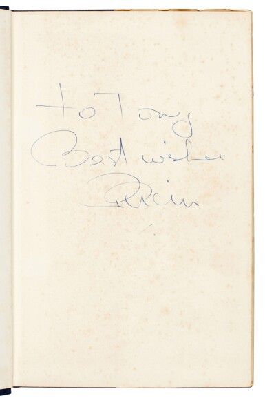 View 1. Thumbnail of Lot 28. EPSTEIN | A Cellarful of Noise, 1964, inscribed.