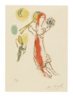 MARC CHAGALL | DAPHNIS AND CHLOÉ (Mourlot 228)