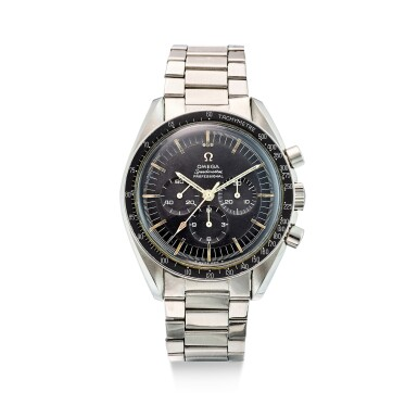 OMEGA | SPEEDMASTER, REFERENCE 145.012-67 A STAINLESS STEEL CHRONOGRAPH WRISTWATCH WITH BRACELET, CIRCA 1968