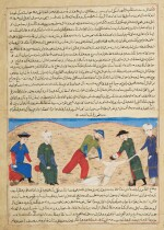 A FOLIO FROM HAFIZ-I ABRU'S MAJMA AL-TAWARIKH, PERSIA, HERAT, CIRCA 1425-26