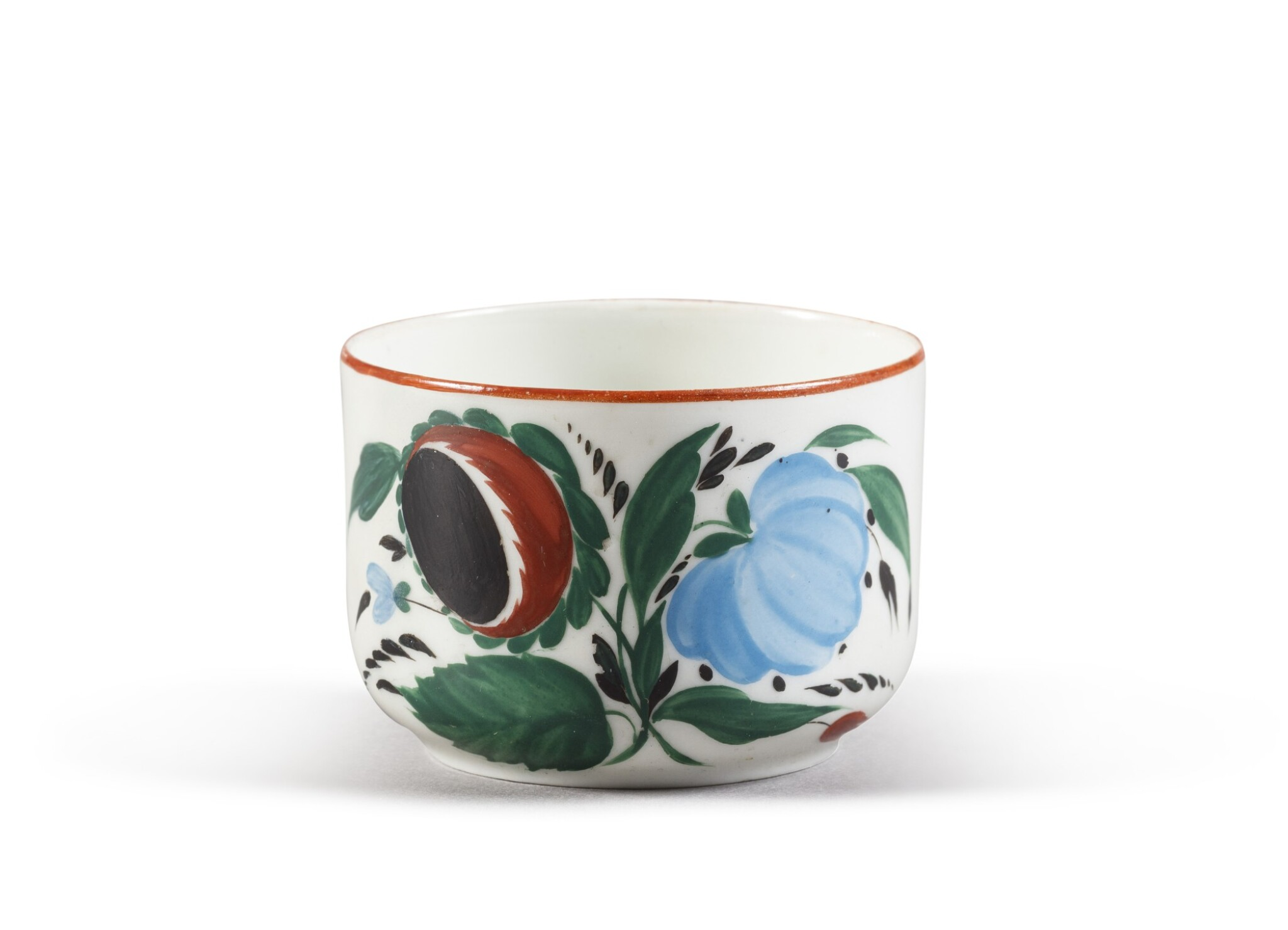 View full screen - View 1 of Lot 150. A Soviet porcelain teacup, State Porcelain Factory, Petrograd, 1924.