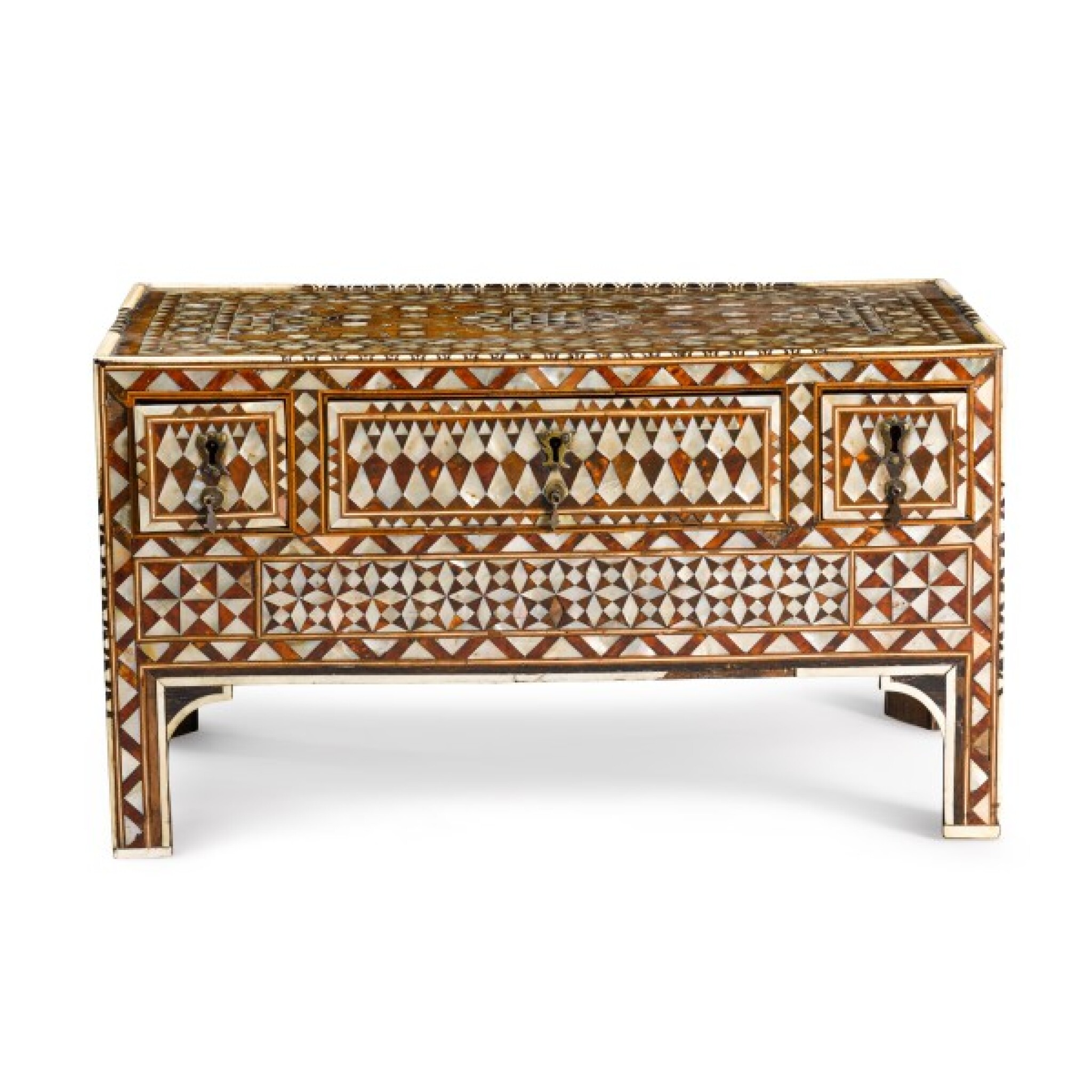View full screen - View 1 of Lot 105. Turkey, Ottoman, 18th/19th century | Calligrapher's Chest.