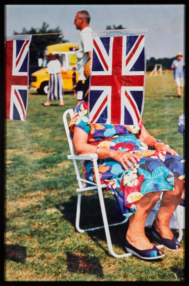 View 2. Thumbnail of Lot 33. MARTIN PARR    THINK OF ENGLAND, 1999.