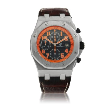 View 1. Thumbnail of Lot 1155. AUDEMARS PIGUET |  ROYAL OAK OFFSHORE 'VOLCANO', REF 26170ST.00.D101CR.01 STAINLESS STEEL CHRONOGRAPH WRISTWATCH WITH DATE   CIRCA 2013.