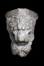 South Italian, probably 14th/ 15th century | Corbel with a lion