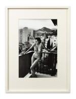 HELMUT NEWTON | ARIELLE CHEZ MOI, MONTECARLO, 1982