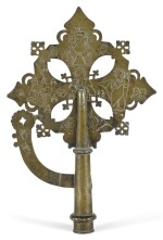 ETHIOPIAN, LATE 18TH/ EARLY 19TH CENTURY | Processional Cross