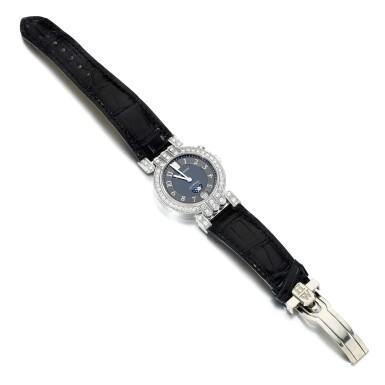 View 2. Thumbnail of Lot 122. Harry Winston | Lady's diamond wristwatch, 'Premier'.