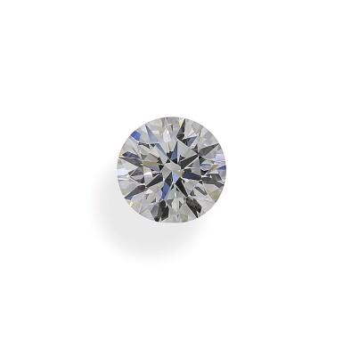 A 2.01 Carat Round Diamond, F Color, VS2 Clarity