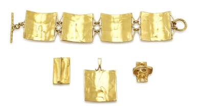 BRACELET, RING, BROOCH AND A PENDANT (BRACCIALE, ANELLO, SPILLA E PENDENTE), GERMANO ALFONSI