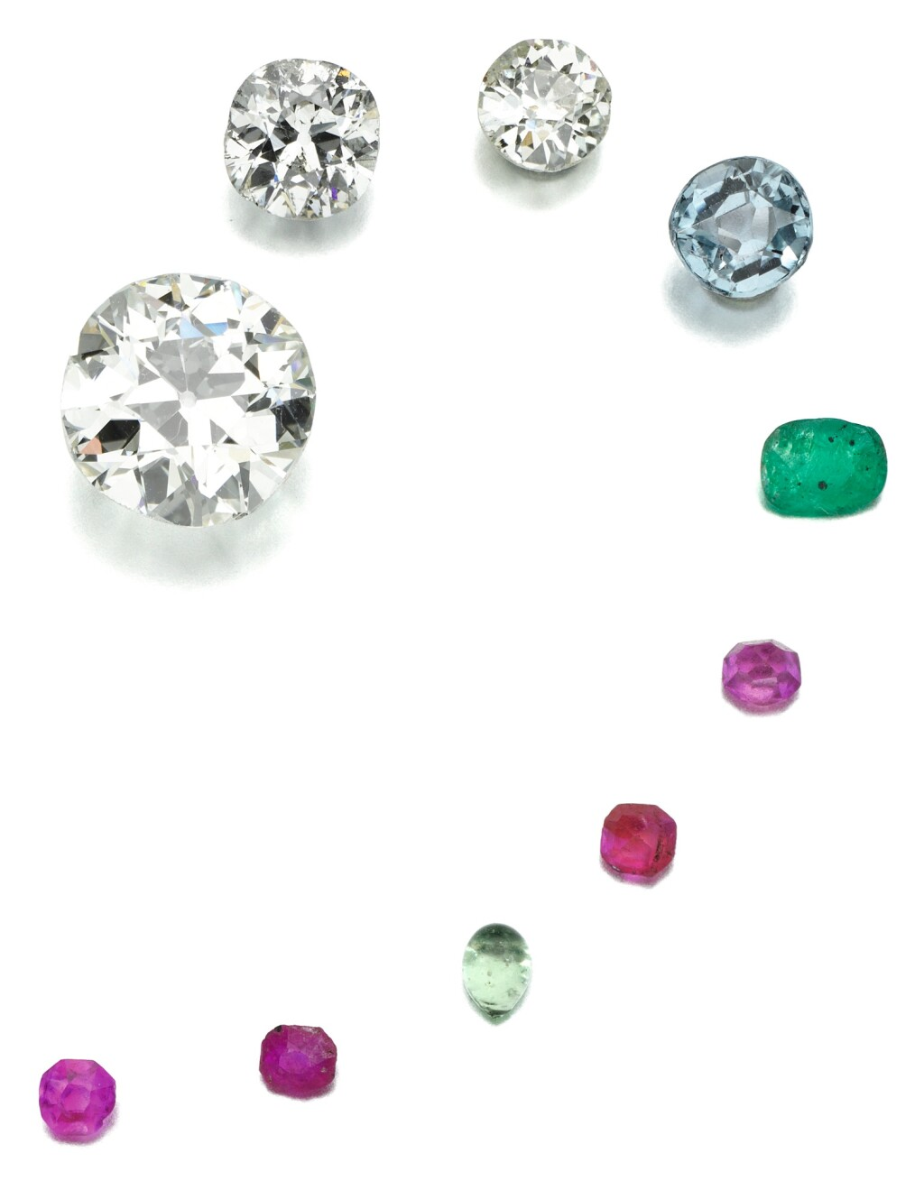 PARCEL OF UNMOUNTED GEMSTONES