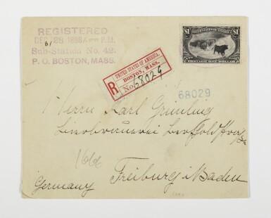 1898 Trans-Mississippi $1.00 Black (292)