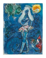 MARC CHAGALL | THE CIRCUS: ONE PLATE (M. 516; SEE C. BKS. 68)
