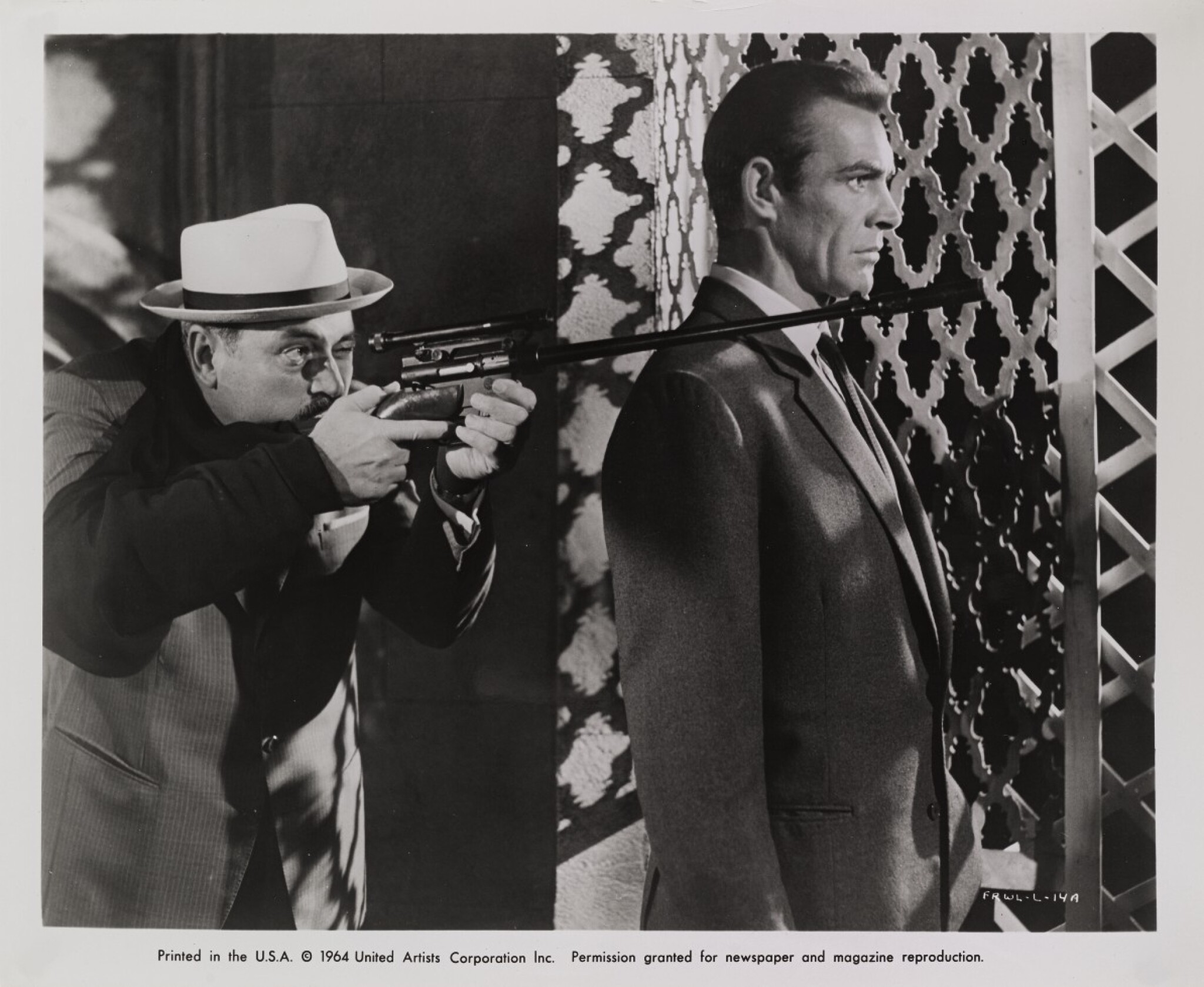View 1 of Lot 31. FROM RUSSIA WITH LOVE (1963) ORIGINAL PHOTOGRAPHIC PRODUCTION STILL, US  .