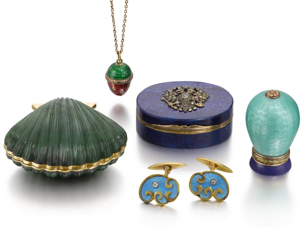 A GROUP OF OBJECTS IN THE RUSSIAN STYLE, 19TH - 20TH CENTURY