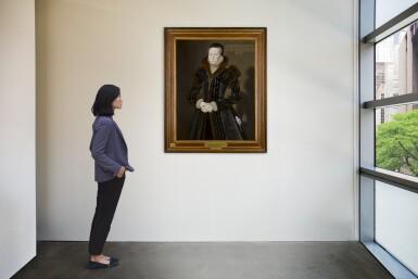 View 4. Thumbnail of Lot 7. Portrait of Joan Thornbury, Mrs Richard Wakeman | 《瓊・桑伯里,理查德・韋克曼夫人肖像》.