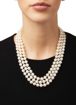 CULTURED PEARL AND DIAMOND NECKLACE, BUCCELLATI