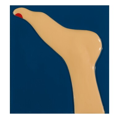 TOM WESSELMANN | SEASCAPE (FOOT)