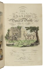 [COMBE, WILLIAM] — THOMAS ROWLANDSON [ILLUSTRATOR] | The English Dance of Death. London:J. Diggens at R. Ackermann's Repository of Arts, 1815, 1816
