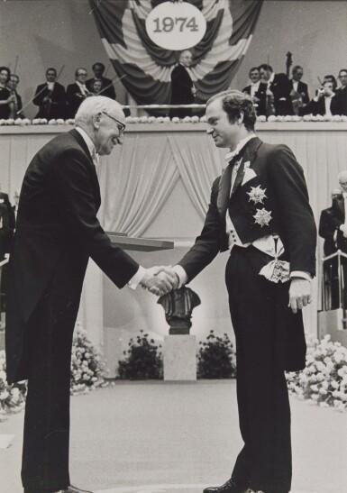 NOBEL PRIZE EPHEMERA FROM 1974 AND 1975