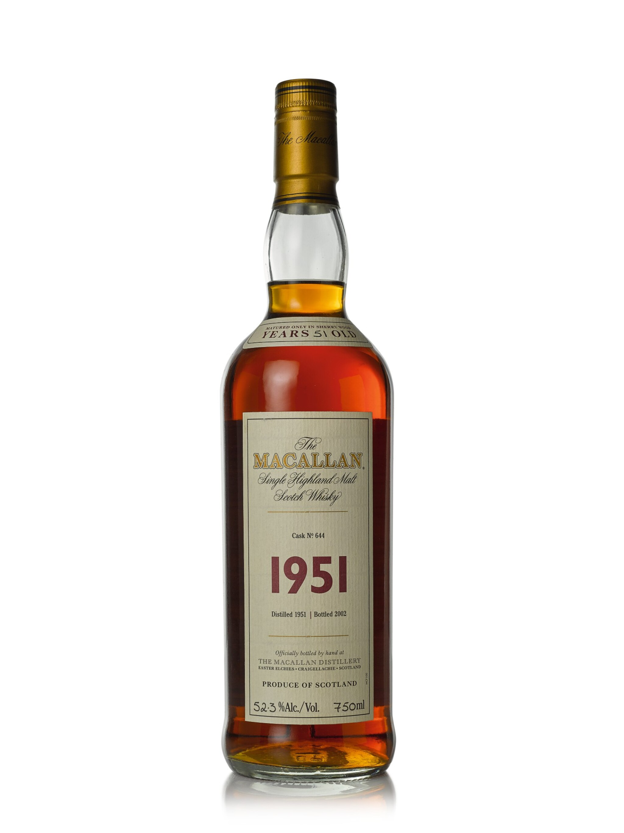 The Macallan Fine & Rare 51 Year Old 52.3 abv 1951 (1 BT75cl)