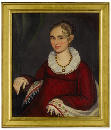 ATTRIBUTED TO AMMI PHILLIPS  | NANCY SMITH LAMPHEAR