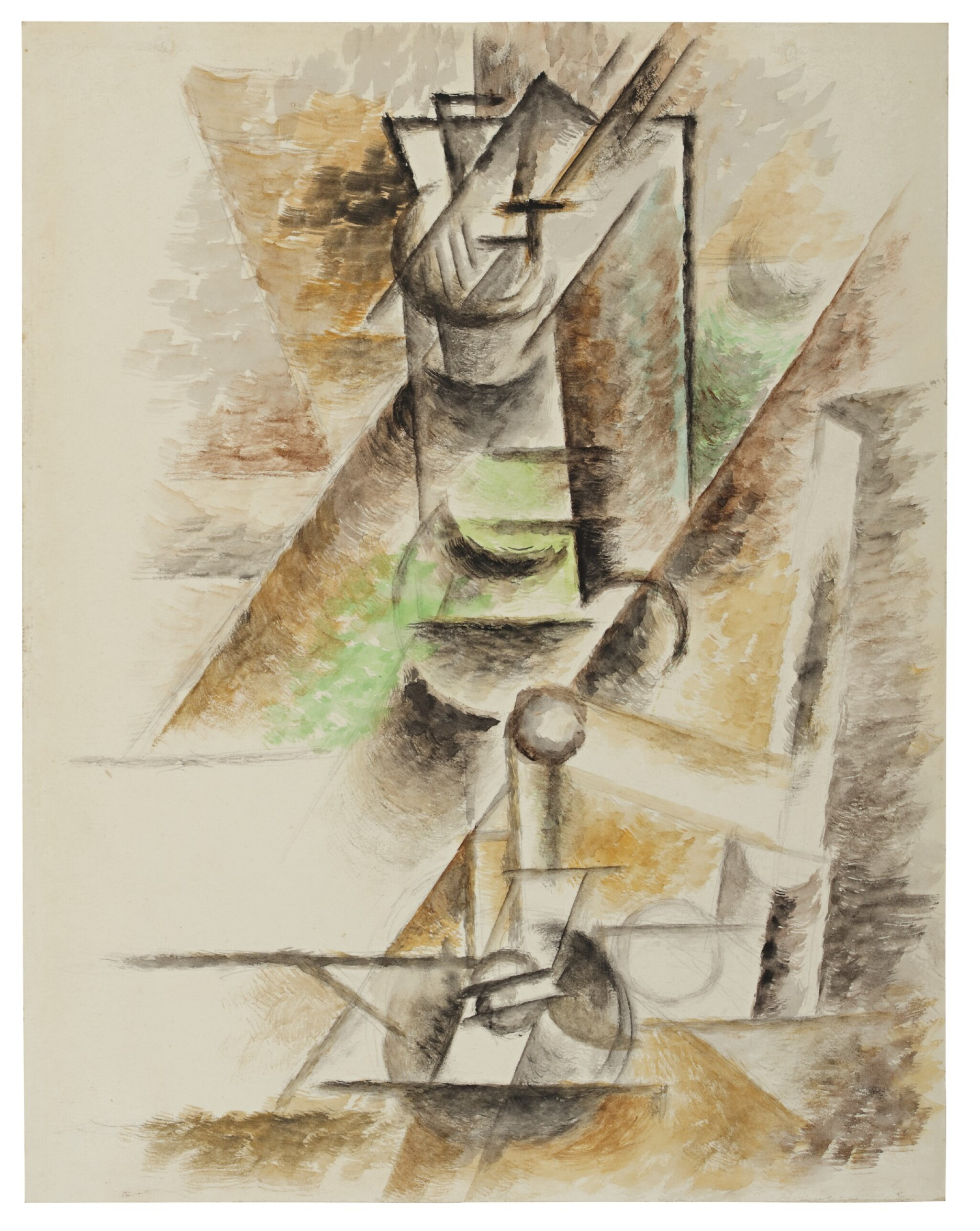 View full screen - View 1 of Lot 114. PABLO PICASSO | LE VERRE.