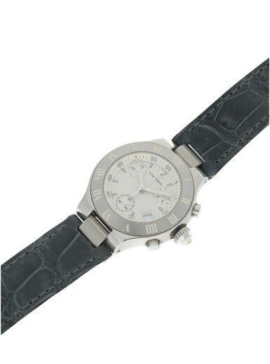 View 6. Thumbnail of Lot 8. REFERENCE 2996 CHRONOSCAPH 21 A STAINLESS STEEL CHRONOGRAPH WRISTWATCH WITH DATE, CIRCA 2005.