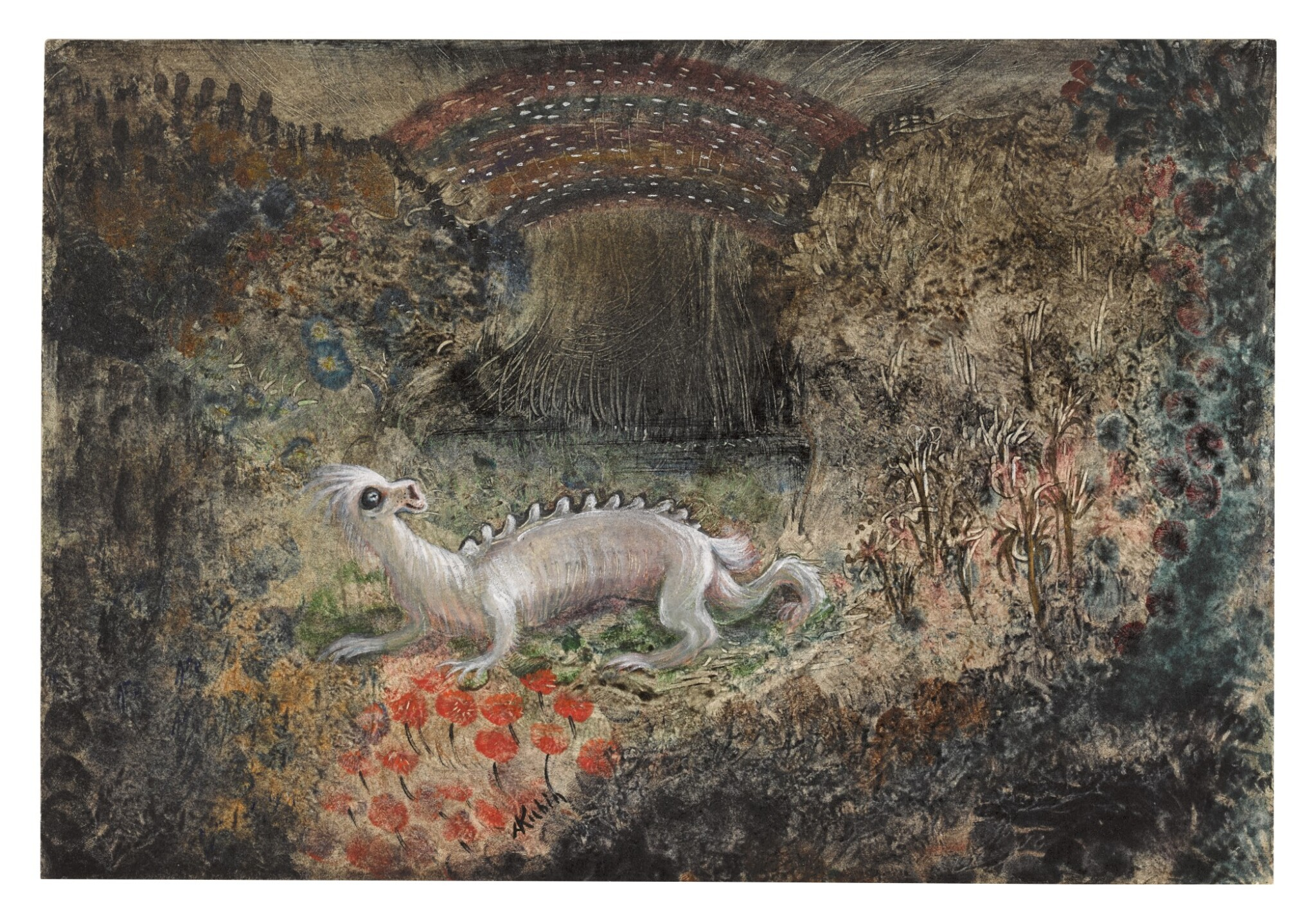 View full screen - View 1 of Lot 10.  ALFRED KUBIN | FABELWESEN (MYTHICAL CREATURE).