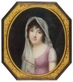 JEAN-BAPTISTE ISABEY | PORTRAIT OF A LADY, CIRCA 1800