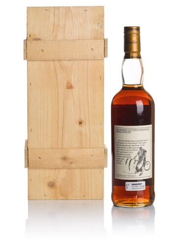 View 2. Thumbnail of Lot 38. THE MACALLAN 25 YEAR OLD ANNIVERSARY MALT 43.0 ABV 1974 .