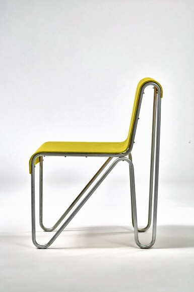"""View 2. Thumbnail of Lot 10. """"Beugel"""" Chair."""