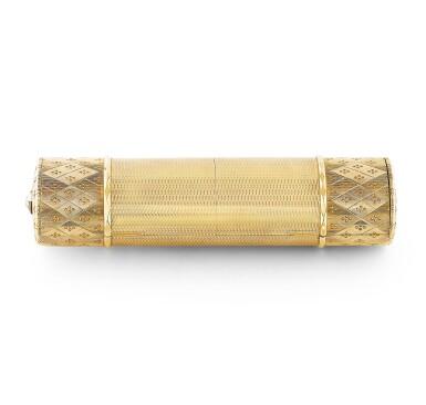 View 1. Thumbnail of Lot 53. CARTIER | NÉCESSAIRE DE BEAUTÉ OR ET DIAMANTS, DESSINÉ PAR RUPERT EMMERSON | GOLD AND DIAMOND VANITY CASE, DESIGNED BY RUPERT EMMERSON.