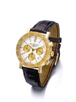 BULGARI | REF. BB 38 GL CH A YELLOW GOLD AUTOMATIC CHRONOGRAPH WRISTWATCH WITH DATE CIRCA 2005