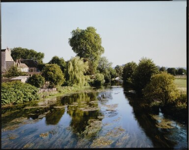 STEPHEN SHORE | THE RIVER HUISNE, NOGENT-LE-ROTROU, FRANCE, 1990