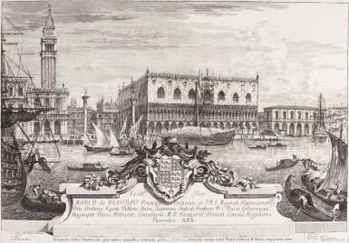 Venice   2 works on paper, eighteenth century