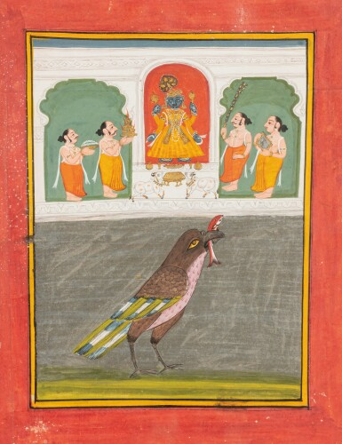 View 1. Thumbnail of Lot 69. RAJASTHAN, LATE 18TH CENTURY AND 19TH CENTURY | SEVEN INDIAN MINIATURES.