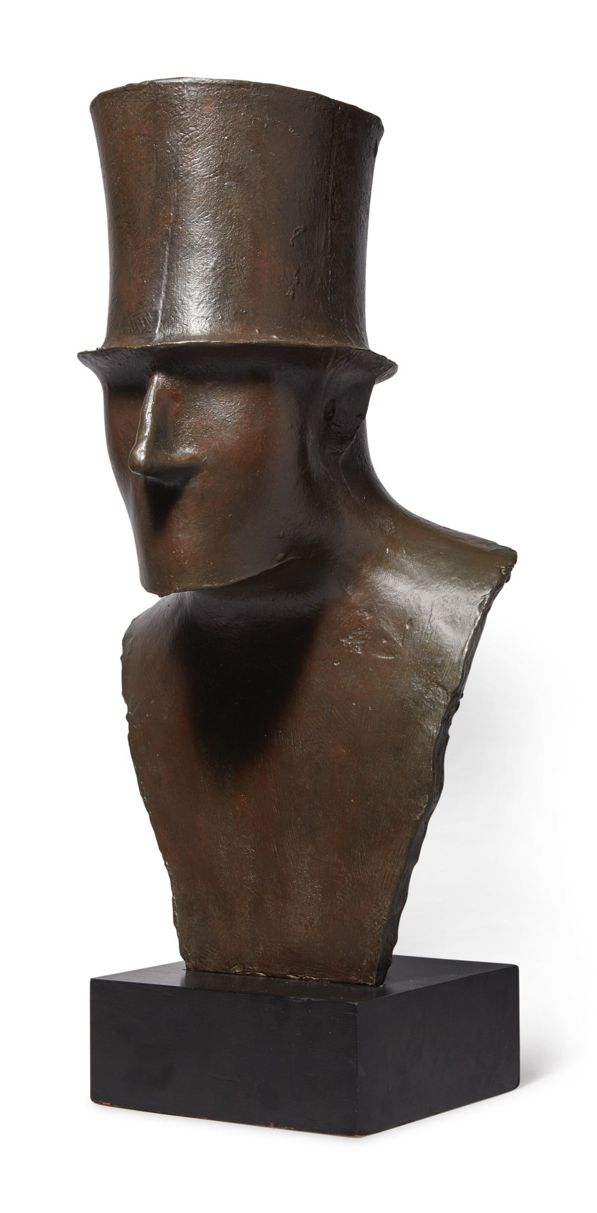 View 1 of Lot 145. Man in Top Hat.