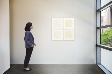 View 7. Thumbnail of Lot 63. AGNES MARTIN    UNTITLED.