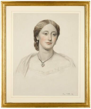 View 5. Thumbnail of Lot 54. Portrait of James Stewart Hodgson; Portrait of Gertrude Agatha Stewart Hodgson.