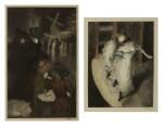 Au Moulin Rouge; and Devant la lampe