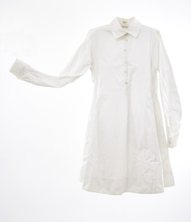 White chemisier, Hermès