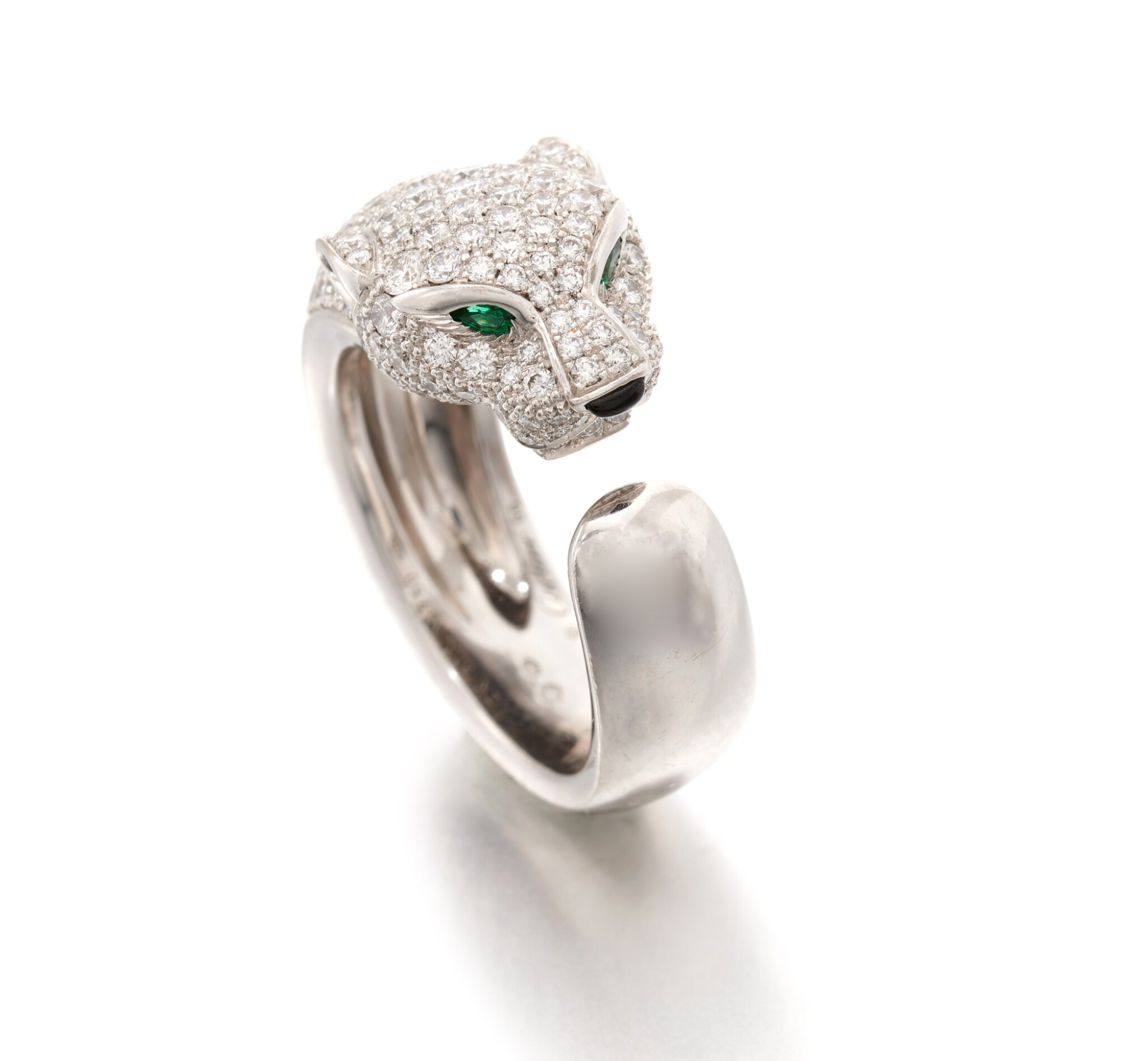View full screen - View 1 of Lot 183. CARTIER | 'PANTHÈRE' RING   (ANELLO 'PANTHÈRE').