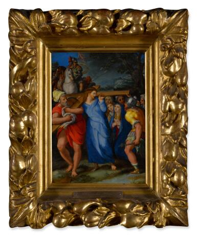View 2. Thumbnail of Lot 12. Christ Carrying the Cross.